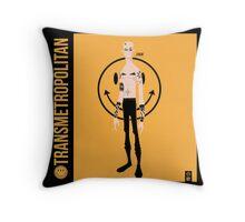 Spider Jerusalem (Transmetropolitan)  Throw Pillow
