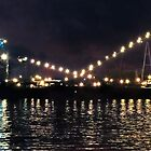 Sandusky Coal Dock At Night by SRowe Art