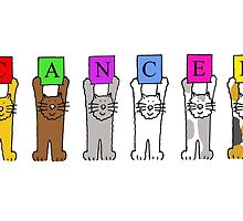 CANCER with cartoon cats. by KateTaylor