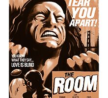 The Room - Retro Poster by tydalwave