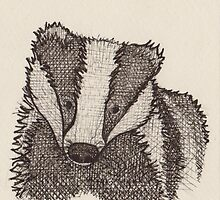 Badger by rosiec