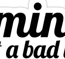 Feminist I Sticker