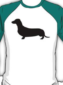 Dachshund Silhouette T-Shirt