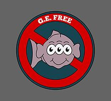 G.E. Free | Three eyed fish by piedaydesigns