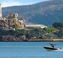 Speeding Past Alcatraz by David Denny