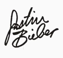 Justin Bieber Signature by belelathrone
