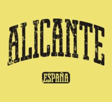 Alicante Spain (Black Print) by smashtransit
