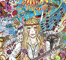 Anime Hippie by Homicidium