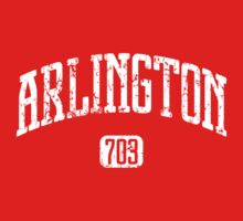 Arlington 703 (White Print) by smashtransit