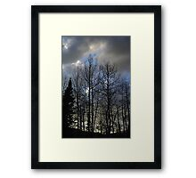 Evening Is Nigh Framed Print