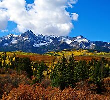 Autumn Divide by Gary Benson