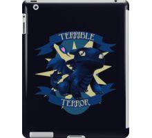 Terrible Terror! iPad Case/Skin