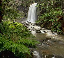 Hopetoun Falls by Malcolm Katon