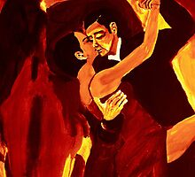 The ecstasy of tango  2 by artbyengels