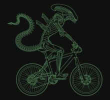 Alien Ride by zomboy