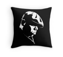 The Notorious B.I.G. Stencil Throw Pillow