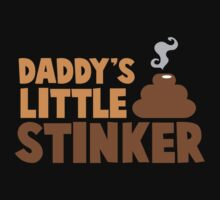 Daddy's little stinker (with a smelly poo) by jazzydevil