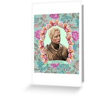 Brienne (Valar Morghulis) Greeting Card