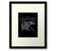 Ragnar's war-band Framed Print