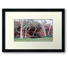 Durba Springs WA Framed Print