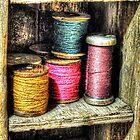Spools of Thread by bannercgtl10