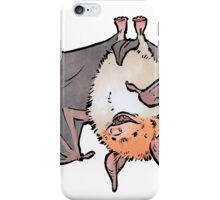 Greater mouse-eared bat iPhone Case/Skin