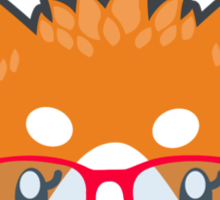 Nerdy Knitwear FOX - head only Sticker