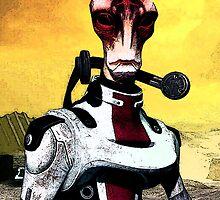 Mordin - Mass Effect by Mellark90