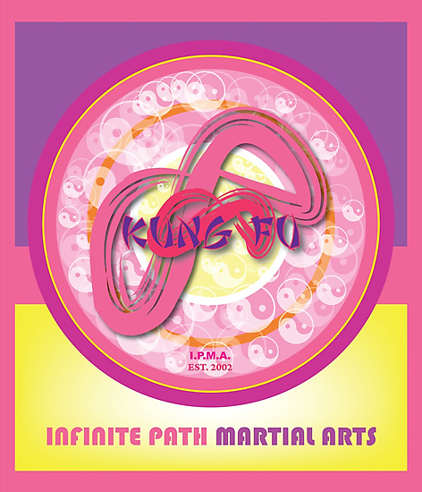 Infinite Path Martial Arts • Kung Fu Mandala • Pink by Robyn Scafone