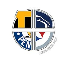 Pittsburgh Pro Sports TETRAlogy! Steelers, Pirates, Penguins and Penn State University by Sochi