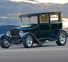 1927 Ford Sedan 'Watta Q T' by DaveKoontz