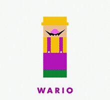 Wario by Andrea Ramirez