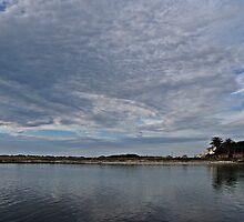 Kommetjie Harbour - calm before the storm by Lee Jones