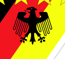 German 4 Stars Sticker