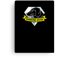 Metal Gear Solid V - Diamond Dogs Canvas Print