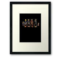 Jak and Daxter Saga - Full Colour Framed Print