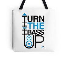 TURN THE BASS UP - Crossfader & Speaker DJ, Dark Tote Bag