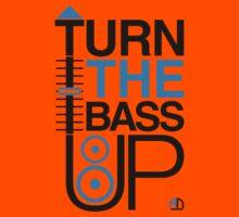 TURN THE BASS UP - Crossfader & Speaker DJ, Dark Kids Clothes