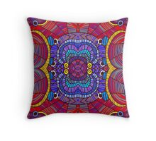 The Shield of Thetis Throw Pillow