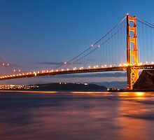 Golden Gate Bridge by Dmitry Shuster