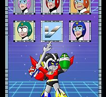 Mega Voltron by Hushy