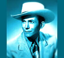 Hank Williams Sr. New Look by jerry2011