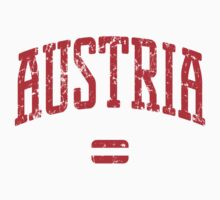 Austria (Red Print) by smashtransit