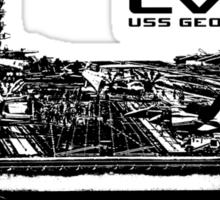 USS George H.W. Bush (CVN-77) Sticker