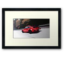 Porsche 911 turbo (930) Framed Print