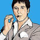 Al Pacino Scarface Pop Art  by Creative Spectator