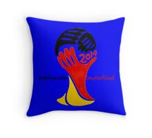 FIFA World Cup Champion  Deutschland Glückwunsch Throw Pillow