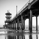 Huntington Beach Pier by Radek Hofman