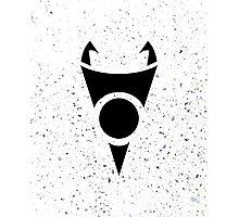 Irken Invader Symbol (Black) Photographic Print