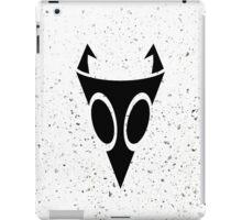 Irken Military Symbol (Black) iPad Case/Skin
